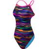TYR Fresno Crosscutfit Tieback Bathing Suit Women purple/multi
